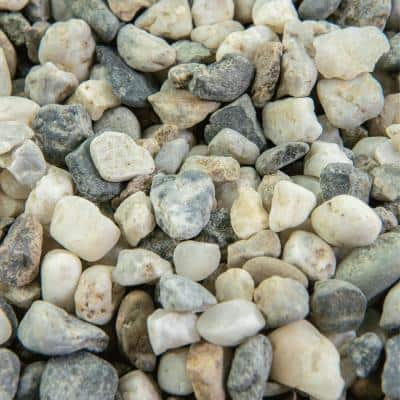 25 cu. ft. 3/8 in. Glacier Bulk Landscape Rock and Pebble for Gardening, Landscaping, Driveways and Walkways