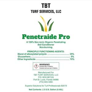 Penetaide Pro 100% Non-Ionic Organic Penetrating Soil Conditioner Non-Burning