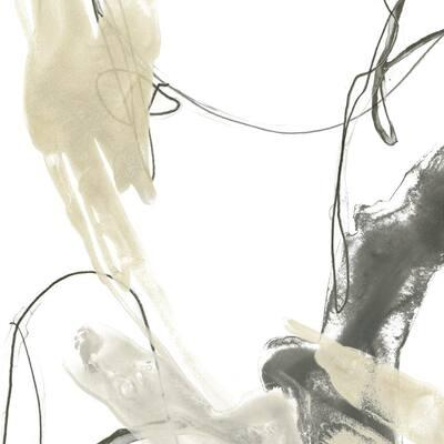 """72 in. x 72 in. """"Monochrome Momentum II"""" by June Erica Vess Wall Art"""