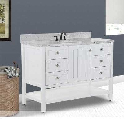 Lanceton Vanity Cabinet and Top with Basin