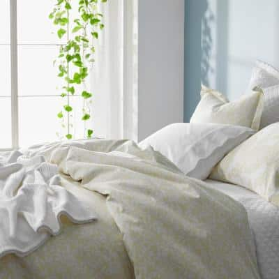 Stencil Leaf Legends® Hotel Cotton Sateen Duvet Cover