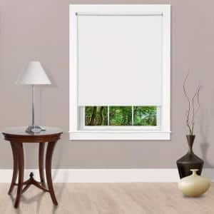 Bali Cut To Size Cut To Size Woven Taupe Cordless Room Darkening Fade Resistant Roller Shades 70 25 In W X 72 In L 37 8102 22x72 25x72 The Home Depot