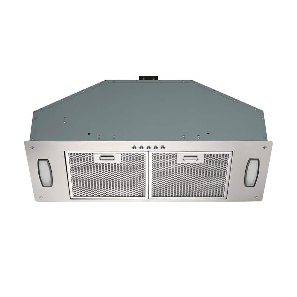 Kobe Range Hoods 30 In 550 Cfm Insert Range Hood In Stainless Steel With Honeycomb Filters Inx2830sqh 700 1 The Home Depot