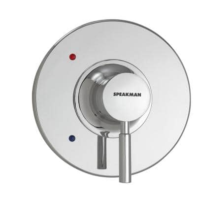 Neo 1-Handle Thermostatic Valve Trim Kit in Polished Chrome