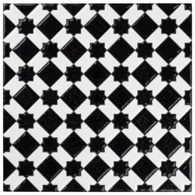 Sevillano Giralda Checker 8 in. x 8 in. Ceramic Wall Tile (11.3 sq. ft. / Case)