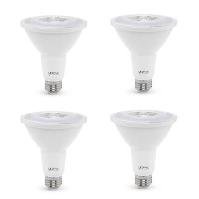 75-Watt Equivalent PAR30 Dimmable LED Light Bulb (4-Pack)