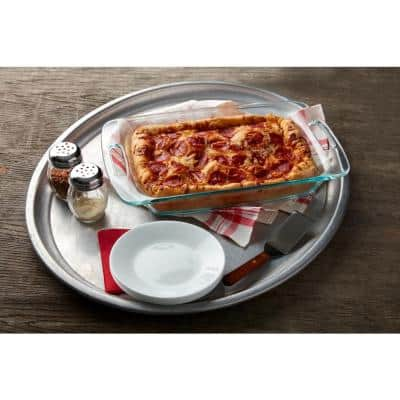Easy Grab 3-qt Glass Baker with Red Lid