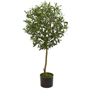 Indoor 3.5 in. Olive Artificial Tree