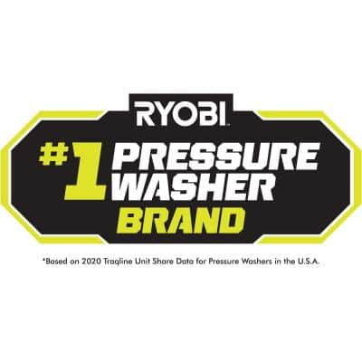 2900 PSI 2.5 GPM Cold Water Gas Pressure Washer