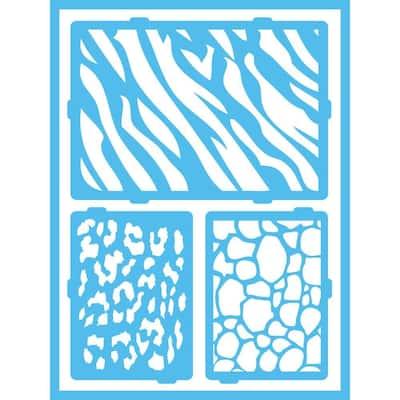 Safari Self-Adhesive Stencil