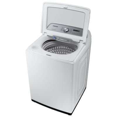 5.0 cu. ft. Hi-Efficiency White Top Load Washing Machine with Active Water Jet, ENERGY STAR