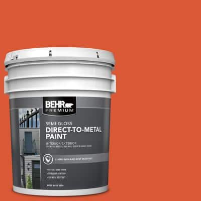 5 gal. #P190-7 Inferno Semi-Gloss Direct to Metal Interior/Exterior Paint