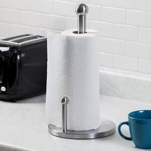 Satin Finish Stainless Steel Paper Towel Holder