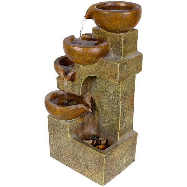 Water Barrell small indoor Outdoor table top Water fountain water feature