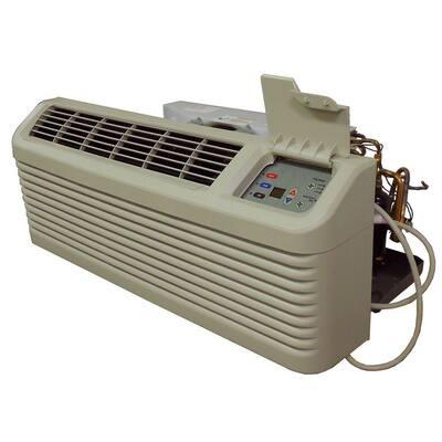 14,200 BTU R-410A Packaged Terminal Heat Pump Air Conditioner + 3.5 kW Electric Heat 230-Volt