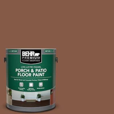 1 gal. #PFC-20 Coronado Low-Lustre Enamel Interior/Exterior Porch and Patio Floor Paint