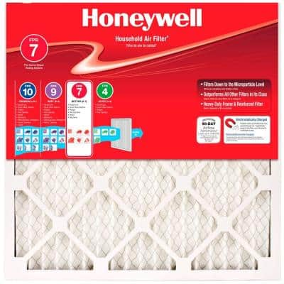 16 x 25 x 1 Allergen Plus Pleated MERV 11 - FPR 7 Air Filter (12-pack)