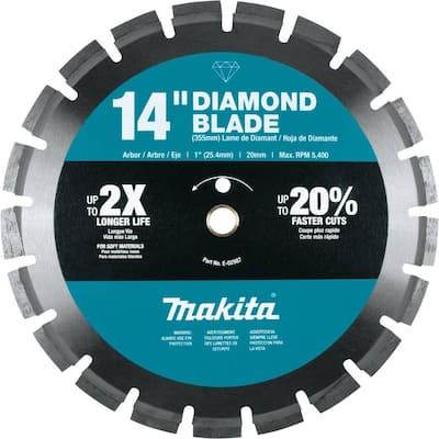 14 in. Diamond Blade, Segmented, Soft Material