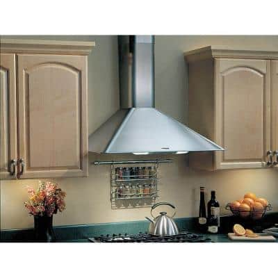 Elite RM50000 30 in. Convertible Wall Mount Range Hood with Light in Stainless Steel