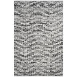 Adirondack Black/Silver 5 ft. x 8 ft. Area Rug