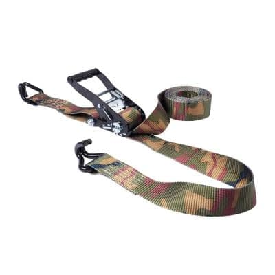 2 in. x 16 ft. Camo Ratchet Tie Down