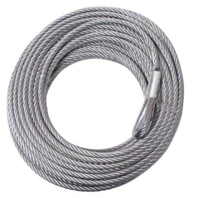 5/16 in. x 94 ft. Steel Winch Cable
