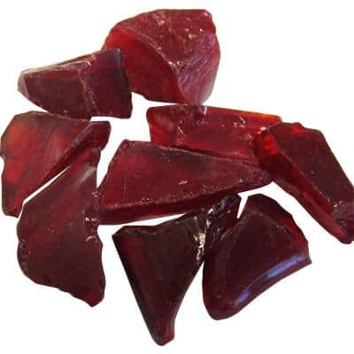 0.75 in. Red Recycled Fire Glass