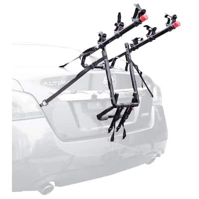 100 lbs. Capacity 3-Bike Trunk Mounted Vehicle Bike Rack