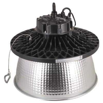 13.8 in. 150-Watt Equivalent Industrial Warehouse Integrated LED Dimmable White High Bay Light, 5000K