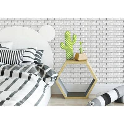 3D PVC Peel and Stick Mosaic Tile Peelable Sticker 12 in. x 24 in. / Piece (Set of 20-Piece)