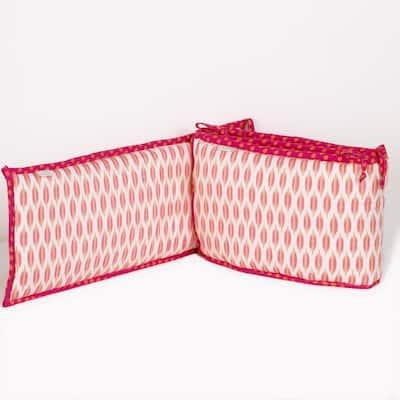 Sundance Cotton 4 Sectional Crib Bumper Pads