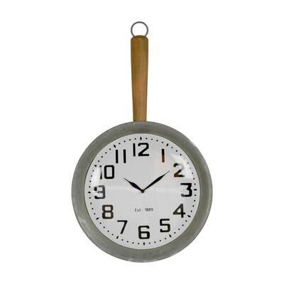 Metal Pan Wall Clock