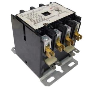 20 Amp 4-Phases 240-Volt Coil 600-Volt Max Definite Purpose Contactor