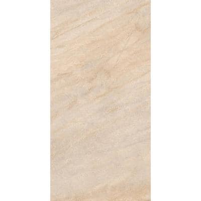 Caledonia Sand 12 in. x 24 in. Porcelain Floor and Wall Tile (13.56 sq. ft./case)