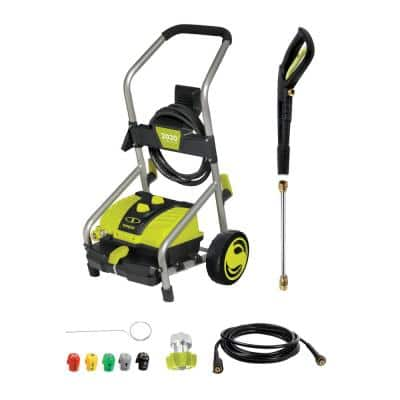 2030 PSI 1.76 GPM 14.5 Amp Cold Water Electric Pressure Washer with Pressure-Select Technology