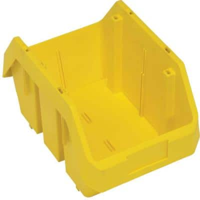 Quickpick 9.1 Qt. Storage Tote in Yellow (20-Pack)