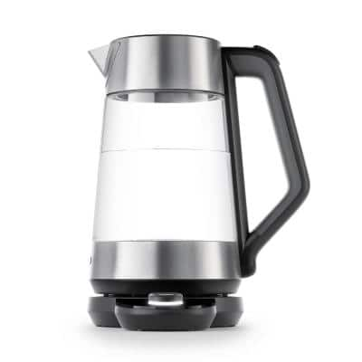 7.4-Cup Stainless Steel Electric Kettle with Temperature Control