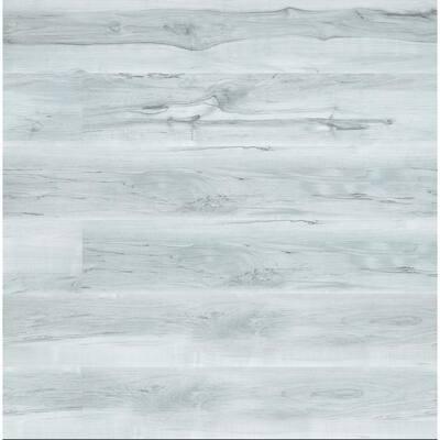 White Sands Hickory 7.13 in. W x 48.03 in. L Rigid Core Click Lock Luxury Vinyl Plank Flooring (19.01 Sq. ft./Case)