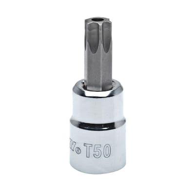 T50 Tamper-Proof Torx 3/8 in. Drive Bit Socket