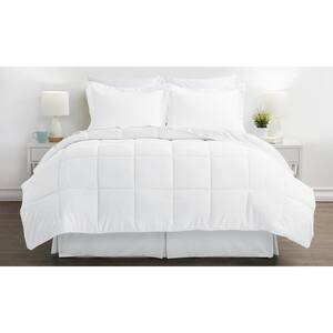 Performance 8-Piece White California King Comforter Set