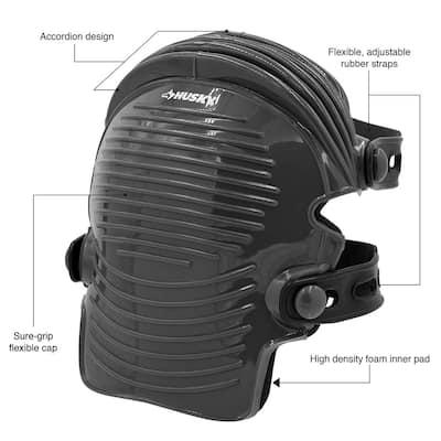 Flexible Soft Cap Knee Pad (1-pair)