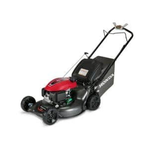 21 in. 3-in-1 Variable Speed Gas Walk Behind Self Propelled Lawn Mower with Auto Choke