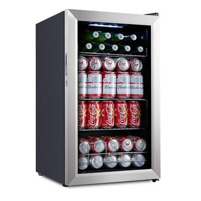 93 Can Compressor Beverage Refrigerator - Beer Cooler