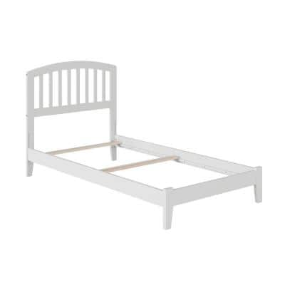 Richmond White Twin Traditional Bed