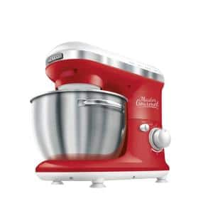4.2 Qt. 6-Speed Red Stand Mixer with Dough Hook