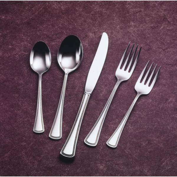 "ARABESQUE Design ONEIDA COMMUNITY Stainless Steel Cutlery Dessert Fork 7⅜/"""
