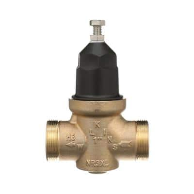 1 in. Brass Water Pressure Reducing Valve