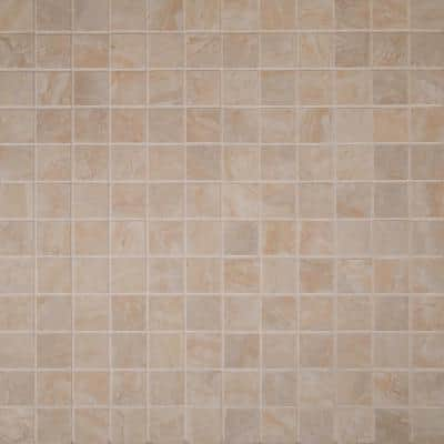 Onyx Crystal 12 in. x 12 in. x 10 mm Polished Porcelain Mesh-Mounted Mosaic Floor and Wall Tile (1 sq. ft.)
