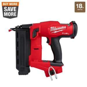 M18 FUEL 18-Volt Lithium-Ion Brushless Cordless Gen II 18-Gauge Brad Nailer (Tool-Only)