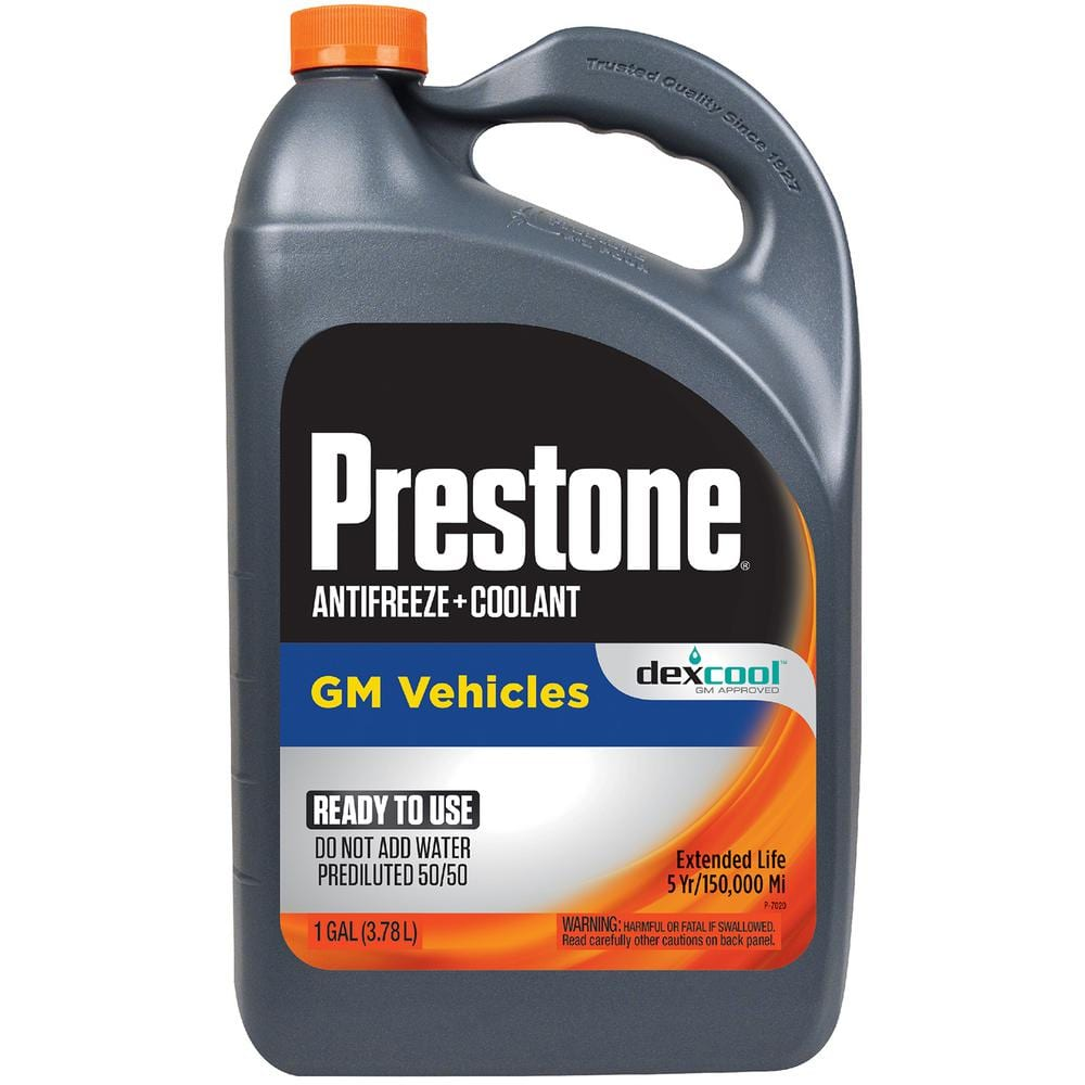 Prestone DEX-COOL Antifreeze+Coolant; Extended Life -1 Gal- Ready to Use, 50/50